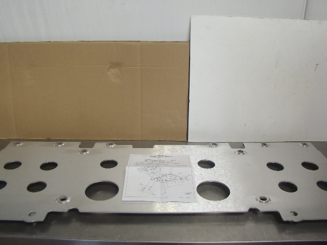 Kawasaki Teryx Mid Skid Plate and Front Skid Plate Combo New