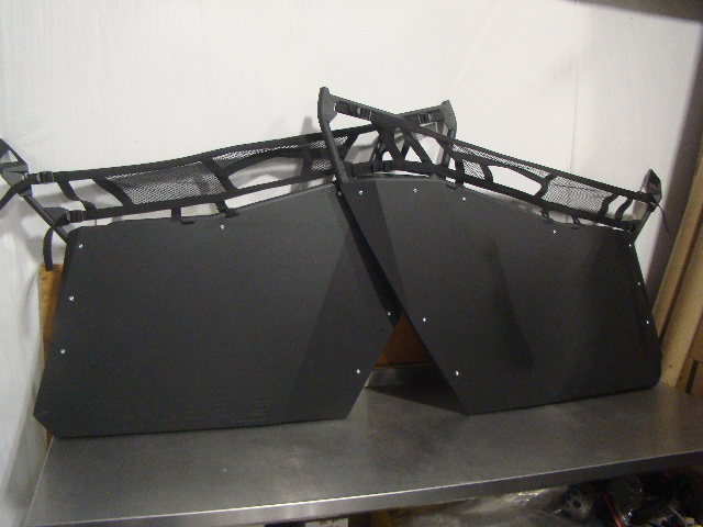 Polaris UTV RZR New OEM Half Door Kit Nets Included