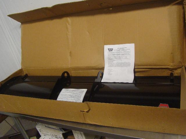 New in Box Warn ATV 54 inch Plow Blade Kit 70954