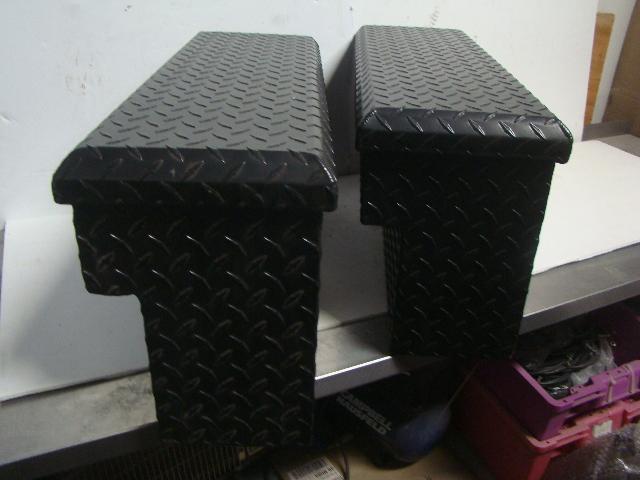 Yamaha UTV Side By Side Rhino NEW Black Side Tool Box Set Part# SSV-5UG15-00-00