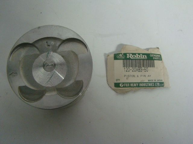 Polaris Robin Genuine Parts New Piston Assembly Part# 120-20AB3-50