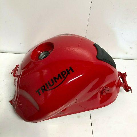 Triumph 1994-2017 Fuel Tank Spares Diablo Red 657553 Part# T2405211-CW OEM NEW