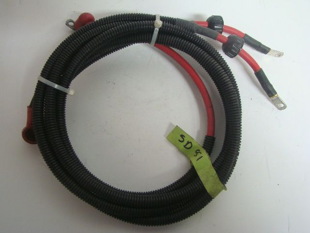 Sea-Doo Bombardier 2003 XP DI 951 Electrical Box Power And Neg Cables 278001886