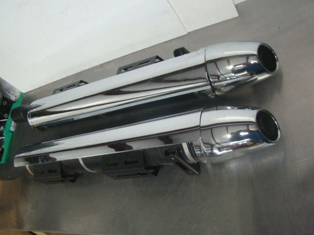Polaris Motorcycle 06-2017 Victory Chrome Mufflers OEM 2879371-156 New Take Offs
