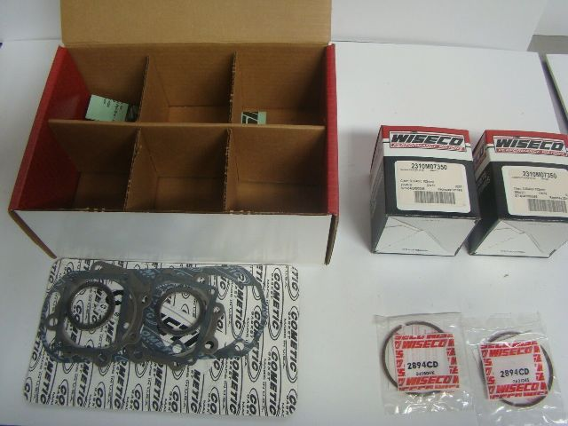 Yamaha Snowmobile 1999 Phazer 500 Wiseco Complete Piston Kit Part# SK1291