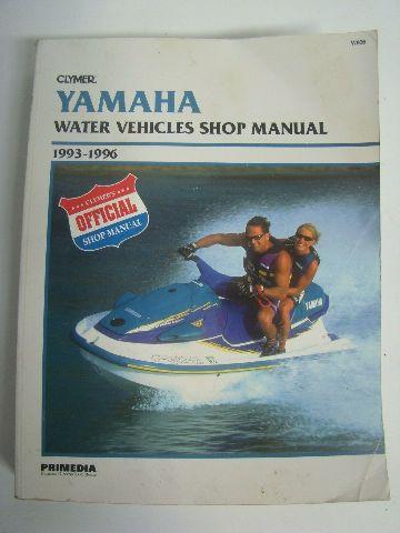 Yamaha Clymer 1993-1996 All Models Shop Manual Part# W806