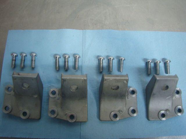 Yamaha 09-18 FX FZS FZR VXS VXR Complete Motor Bracket Set Part# 6BH-41661-00-94