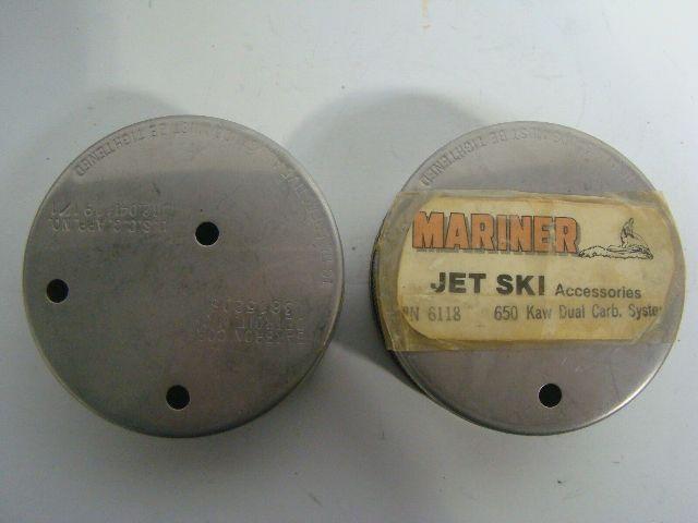 Kawasaki Jet Ski 650 SX Mariner Duel Carb Air Filter Set Part# 6118