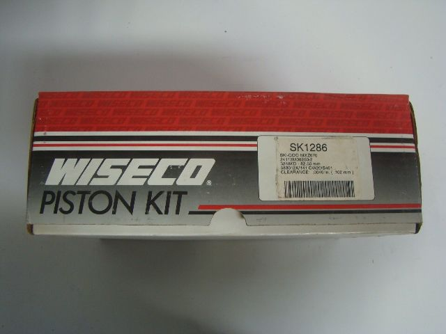 Ski-Doo Snowmobile MXZ 670 Wiseco Complete 82.50 mm Piston Kit Part# SK1286