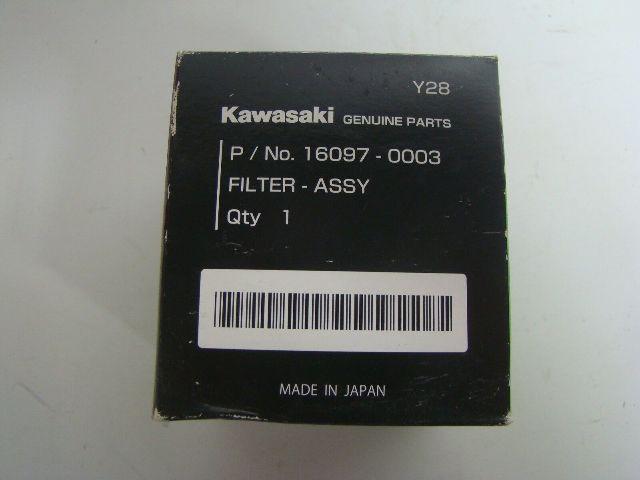 Kawasaki UTV Side By Side Teryx 750 4x4 OEM NEW Oil Filter Part# 16097-0003