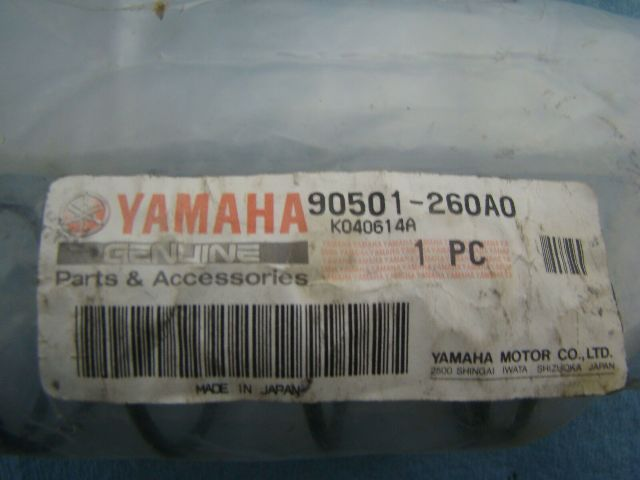 Yamaha 03-18 Apex / RS / FX / Rage / Arex Compression Spring Part 90501-260A0-00
