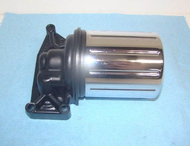 Yamaha  Road Star XV1700 Oil Filter Canister with Adapter Chrome