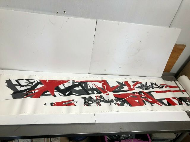 Polaris Snowmobile Pro / RMK Burandt Fracture T/t 155 Red Wrap Part# 2858016-155