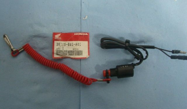 Honda PWC Emergency Stop Switch , New Old Stock  Part # 36180-881-A01