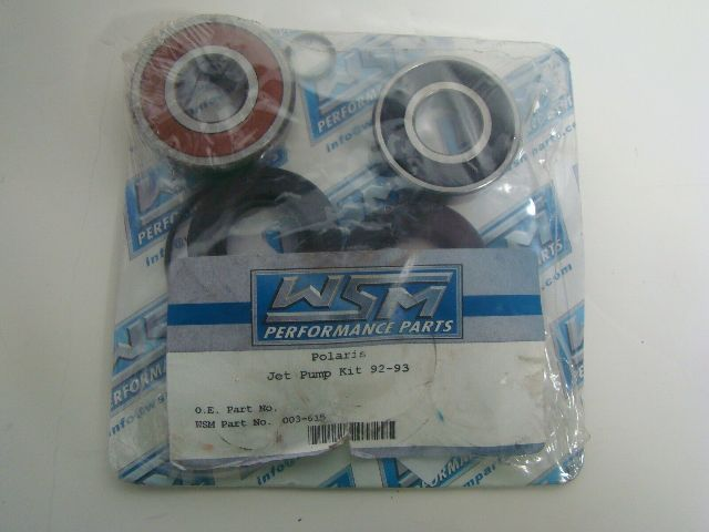 Polaris 1992-1993 WPS Jet Pump Rebuild Kit SL 650 750 SL650 SL750 Part#  003-615