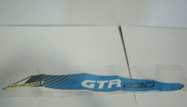Sea Doo Bombardier 2017 GTR STD GTR-X Left Rear Lateral Decal Part# 219904939