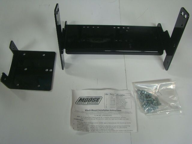 Polaris ATV Quad 4X4 95-2008 Sportsman Magnum Xplorer Snow Winch Mount 4505-0393
