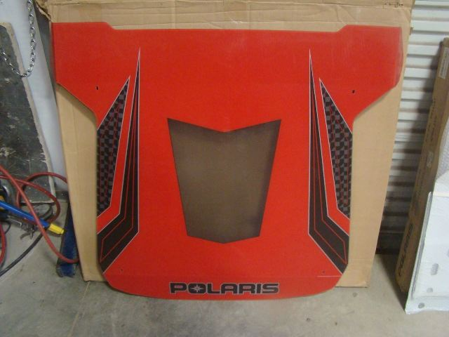 Polaris Graphic Sport Roof Red RZR900 RZR1000XP New OEM Part # 2881607