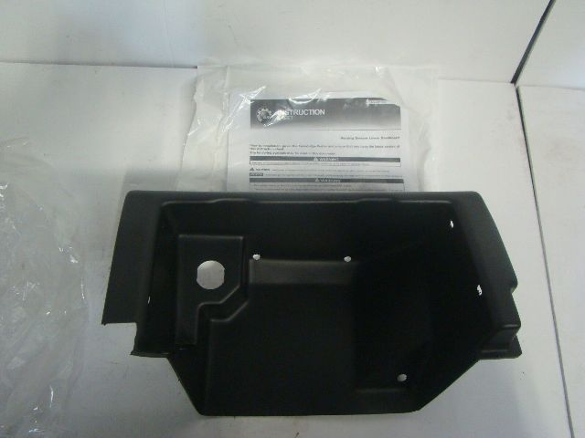 Can-Am UTV Side By Side Defender Lower Dash For Heater Kit Part# 715003441