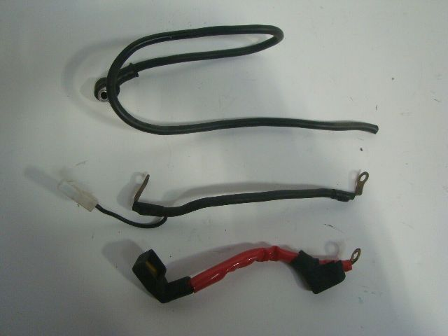 Yamaha Motorcycle 1999-2007 XV 1600 1700 Battery Lead Cables # 4WM-82116-00-00