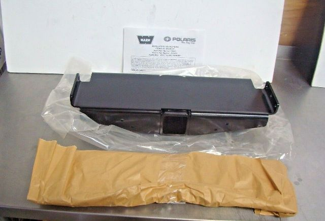 Polaris UTV Side By Side 2005 Ranger Warn Front Hitch Receiver Kit Part# 2875479