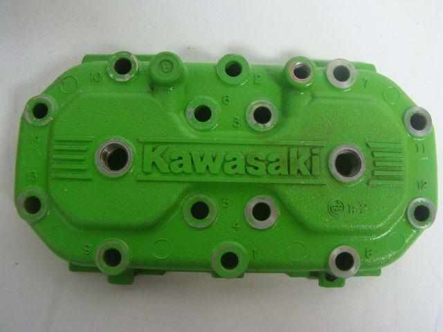 Kawasaki Jet Ski 1993-1995 XIR Super Sport XI Green  Head Cover # 11001-3718