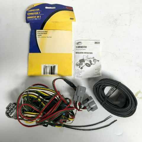 Valley Industries 05 Jeep Grand Cherokee T-Connector Wiring Adapter Part 30022