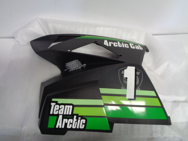 Arctic Cat Snowmobile 2012 XF 1100 Complete Left Hand Side Panel Part# 3718-273