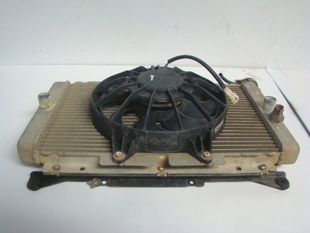 Yamaha Side By Side UTV 2004-2009 Rhino 450 660 Radiator + Fan # 5UG-E2461-00-00