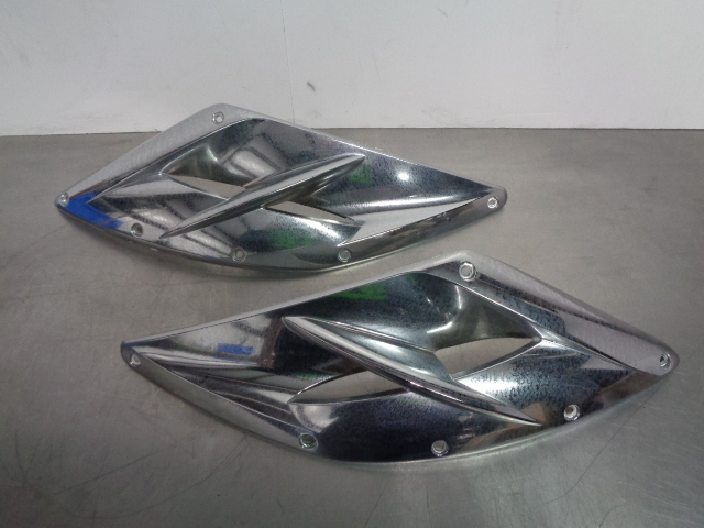 SeaDoo Bombardier 04-2009 RXP Left & Right Chrome Grill Side Panel Set 273000219