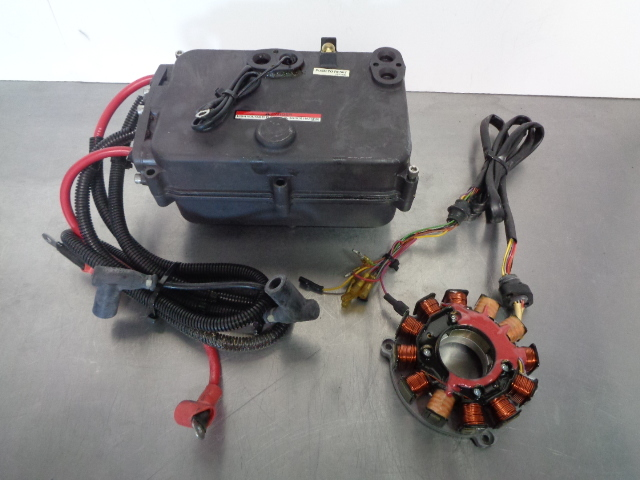 Polaris PWC Watercraft 1997 SLT 700 Complete Ignition + Electrical Box 2873355
