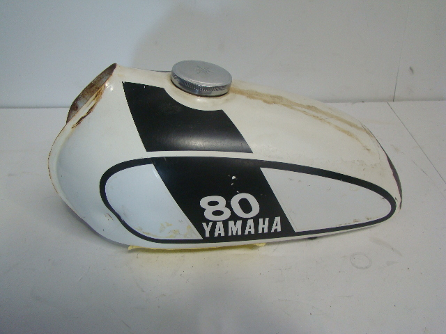 Yamaha Motorcycle / Dirt Bike 1975 MX 80 OEM Orignal Fuel Tank Assembly