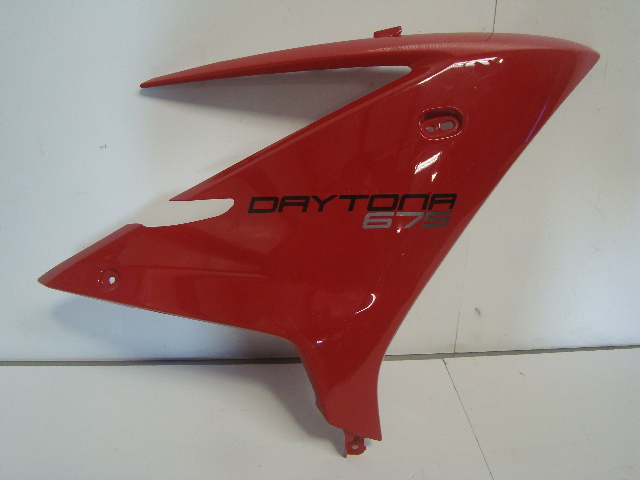 Triumph Motorcycle Daytona 675 / 675 R Right Side Fairing Cowling # 2309458