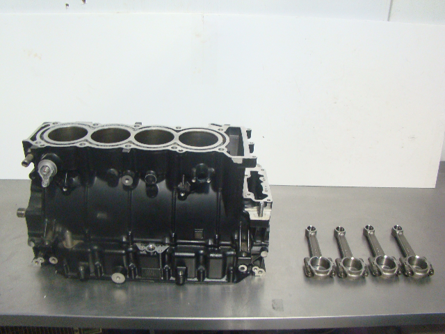 Yamaha Waverunner 2011 FX SHO FZS FZR Crankcase + Shaft+ Rods 6S5-15100-10-00