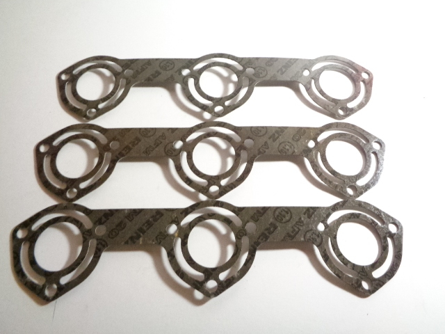 Polaris PWC Watercraft  1994-1995 SL, SLT 650,750 Exhaust Gasket Lot of 3 # 5211489