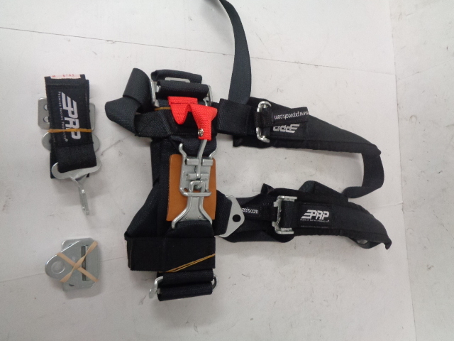 Polaris UTV Side By Side RZR NEW PRP 3 Point Harness Assembly # PRP-3X2BY