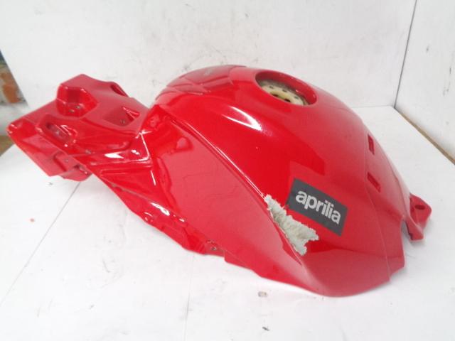 Aprilia Motorcycle 2015 Touno Damaged Fuel Tank Assembly # B045343