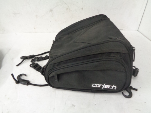 Aftermarket Motorcycle Cortech Textile Tail Bag # 109746 / 08