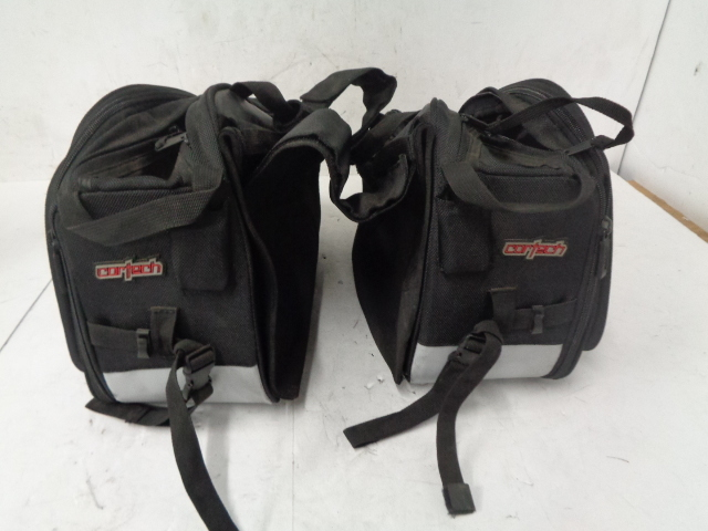 Aftermarket Motorcycle Cortech Textile Throw Over Saddlebags Part# 109746/08