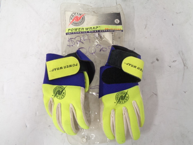 Personal Watercraft PWC New Vintage PowerGrip Full Finger Riding Gloves Small