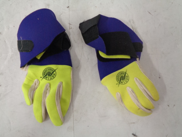 Personal Watercraft New Vintage PowerGrip Full Finger Riding Gloves Extra Small