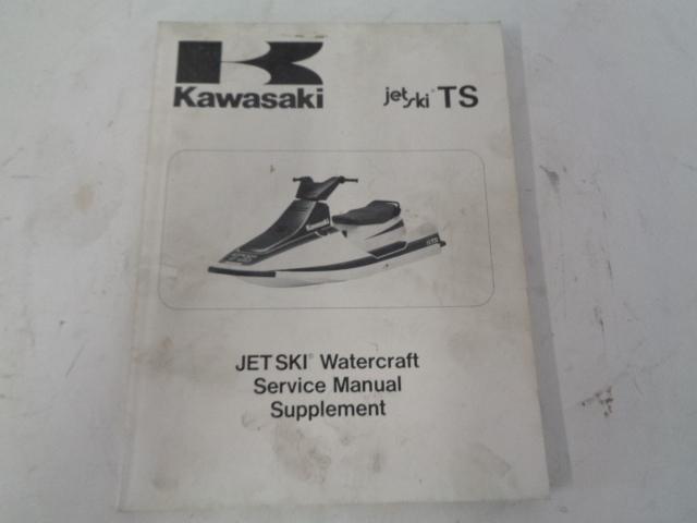 Kawasaki Jet Ski 1989 TS OEM Kawasaki Service Manual Supplement # 99924-1122-51