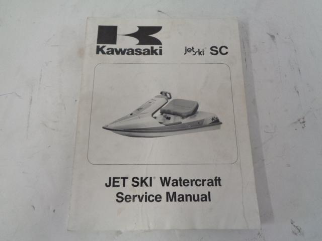 Kawasaki Jet Ski 1991 SC OEM Kawasaki Service Manual Part# 99924-1149-01