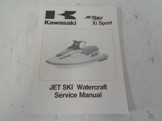 Kawasaki Jet Ski 1998 750 XI Sport OEM Service Manual Part# 99924-1222-01
