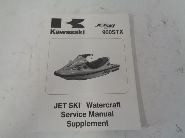 Kawasaki Jet Ski 1999 900 STX OEM Service Manual Supplement # 99924-1242-51