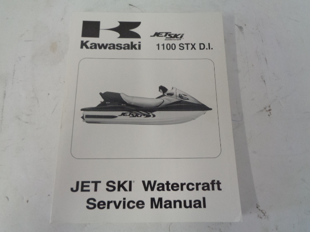 Kawasaki Jet Ski 2000 1100 STX DI OEM Service Manual Part# 99924-1256-01