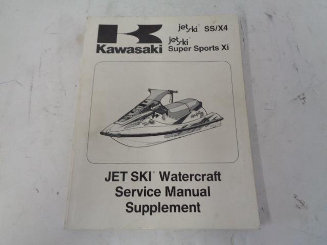 Kawasaki Jet Ski 1992-1993 SS X4 SS XI 750 Service Manual Supplement # 99924-1177-51