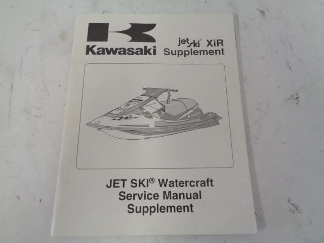 Kawasaki Jet Ski 1994 XIR 750 OEM Service Manual Supplement # 99963-0062-51