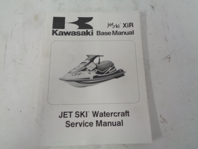 Kawasaki Jet Ski 1994 XIR OEM Service Manual Part# 99924-1180-01