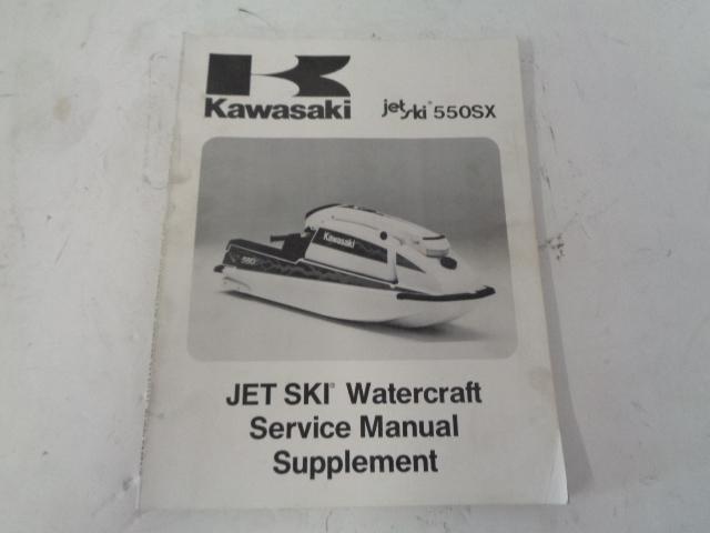 Kawasaki Jet Ski 1991 550SX OEM Service Manual Supplement # 99924-1148-51